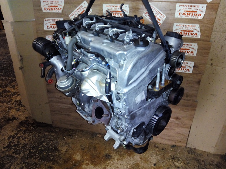 Motor usado honda civic 2 2 crd con referencia n22a2 for Motores honda civic usados